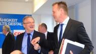 Einigung auf schwarz-rot-grüne Koalition