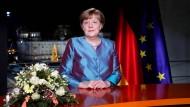 Merkel: Mitmenschlichkeit gegen Hass setzen