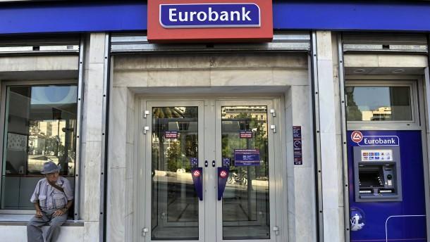 Fusion griechischer Großbanken gestoppt