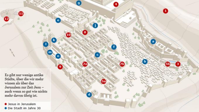 Jerusalem Karte Heute.Eine Interaktive Ansicht Des Historischen Jerusalems
