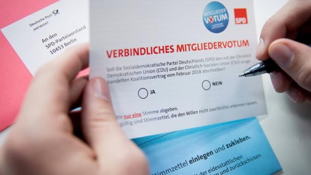 Mitgliederbefragung kostet SPD Millionen Euro