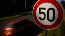 Fahrverbote für Raser bleiben ausgesetzt