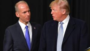 Boeing-Chef soll mit Trump telefoniert haben