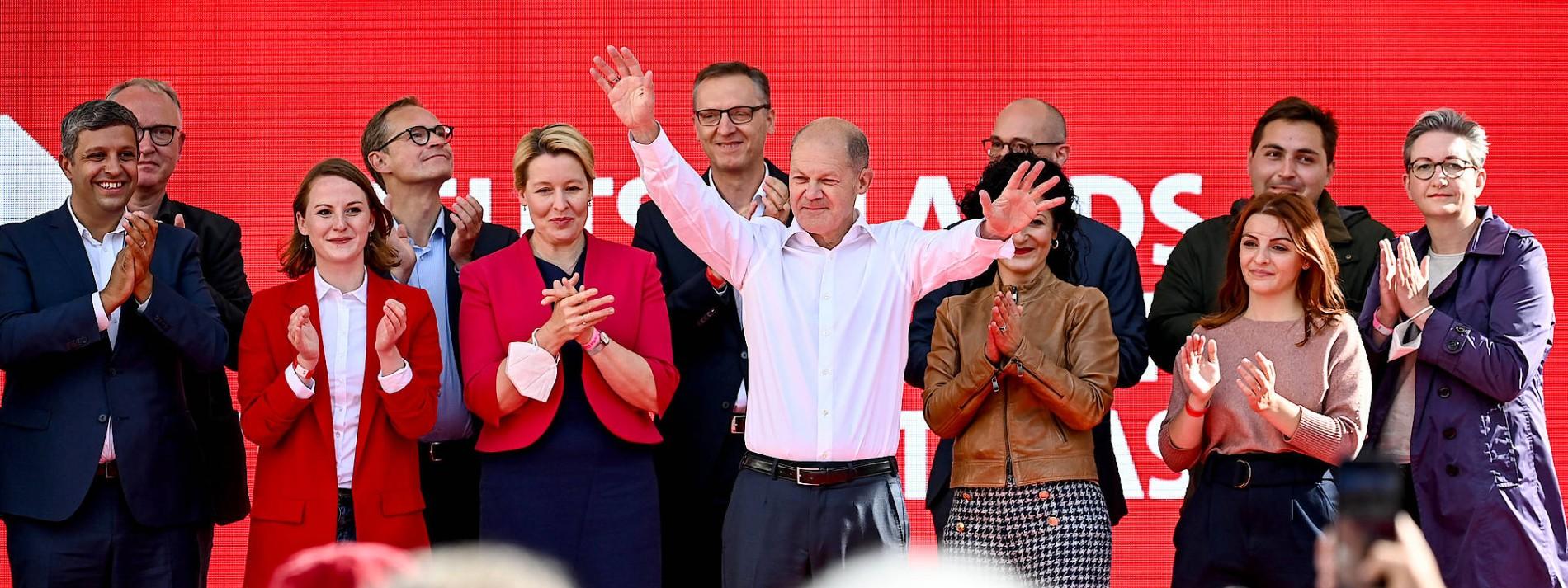Wie erklärt sich der Erfolg der SPD?