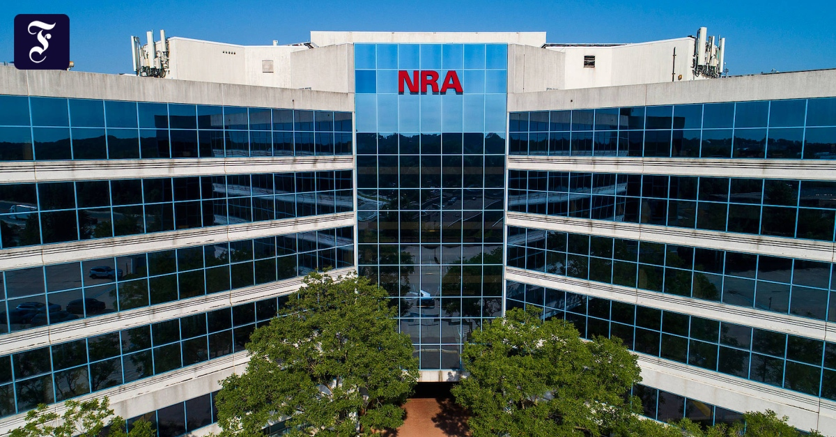 National Rifle Association: Amerikanische Waffenorganisation NRA meldet Konkurs an