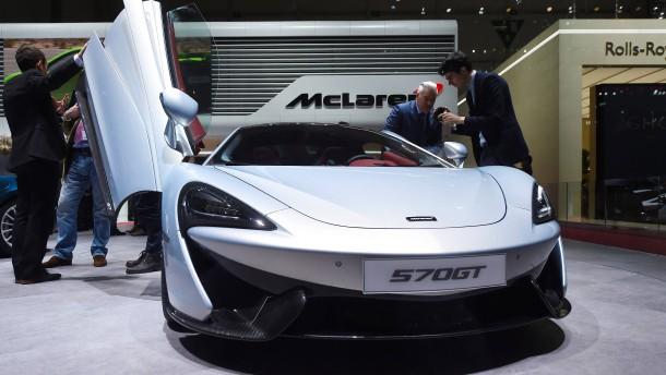 McLaren dementiert Verkaufsgespräche mit Apple