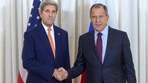 Amerika und Russland bekennen sich zu Waffenruhe
