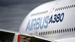 Airbus verkündet Aus für A380