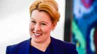 Immer noch Doktorin der Politikwissenschaft: Die strahlende Franziska Giffey