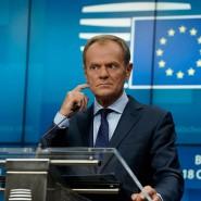 Am Donnerstag verkündete Donald Tusk in Brüssel den Verhandlungserfolg.