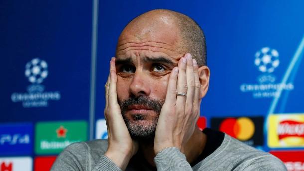 Die Kritik an Guardiola wird immer lauter