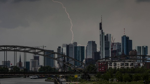 Ungemütliches Wetter mit Gewitter und Starkregen