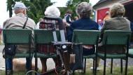 Alterung der Gesellschaft: In Zukunft wird es in Deutschland immer mehr Rentner geben