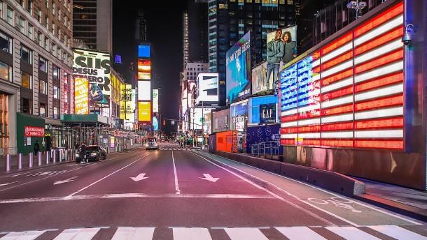 "Trump erwägt ""Quarantäne"" für New York"