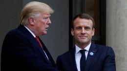 Frankreich beklagt mangelnden Anstand von Trump