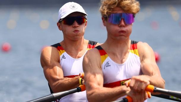 Rommelmann und Osborne gewinnen Ruder-Silber in Tokio