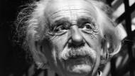 Albert Einstein, Physiker und Begründer der Relativitätstheorie