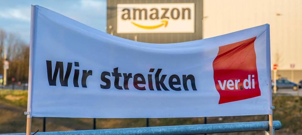 Verdi ruft zu Streiks an Amazons Aktionstag auf
