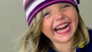 Ein lachendes Kind, aufgenommen 2010 in Frankfurt / Oder.
