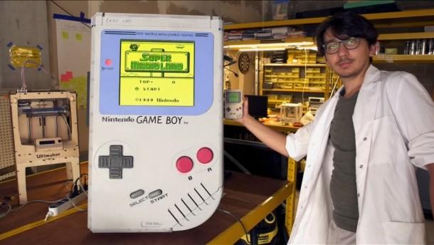 Größter Game Boy der Welt gebaut