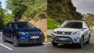 Suzuki SX4 S-Cross und Vitara im Vergleich