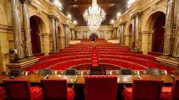 Verfassungsrichter verbieten Sitzung des katalanischen Parlaments