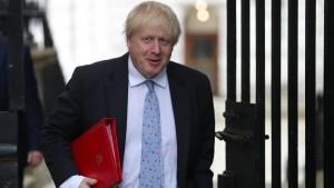 Peinliches Leak für Boris Johnson