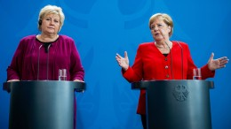 Merkel fordert abermals türkischen Rückzug aus Nordsyrien