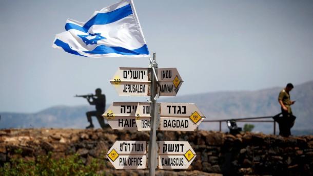 UN-Sicherheitsrat verurteilt Trumps Entscheidung zu Golanhöhen