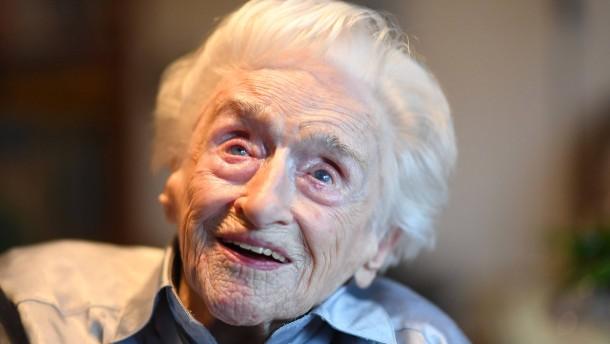 Älteste Frau Deutschlands gestorben