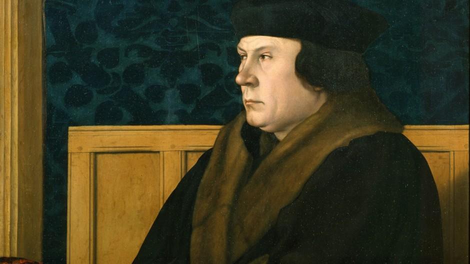 Thomas Cromwell, wie ihn Hans Holbein der Jüngere malte (Ausschnitt)