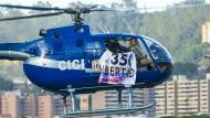 Amateuraufnahmen der Helikopterattacke