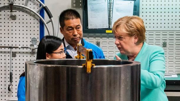 Deutsche Unternehmen setzen auf China