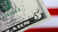Der Stoff, aus dem die amerikanischen Banknoten sind: alte Jeans