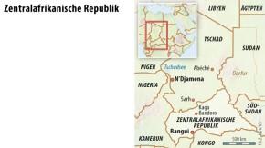 Karte / Infografik / Zentralafrikanische Republik