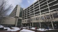 Plötzlich im Mittelpunkt des Interesses: das Gebäude des Oberlandesgericht in München