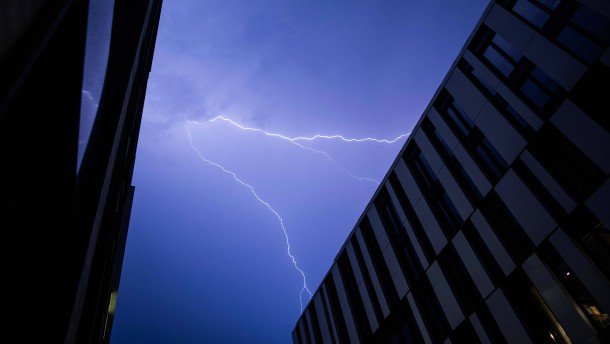 Unwetter sorgen für Abkühlung