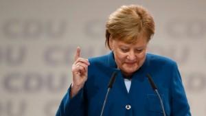 Weiter mit Merkel?