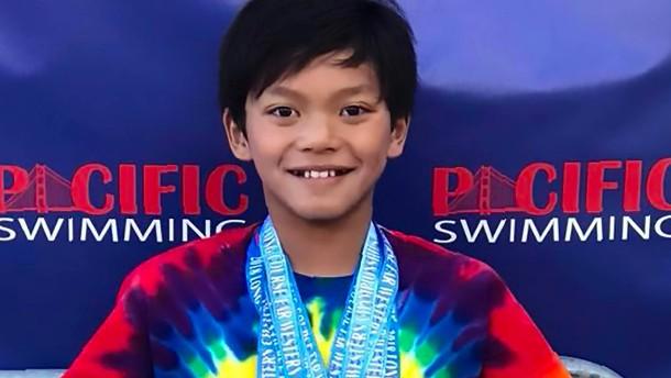 Zehnjähriger bricht Rekord von Michael Phelps