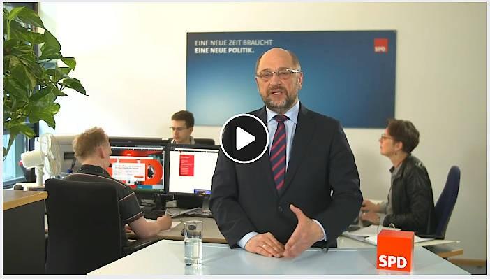 """""""Ich möchte Euch wirklich bitten, mir Euer Vertrauen zu geben"""": Martin Schulz auf Facebook"""