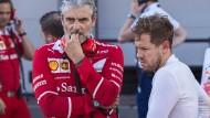 Vettel droht Rennsperre
