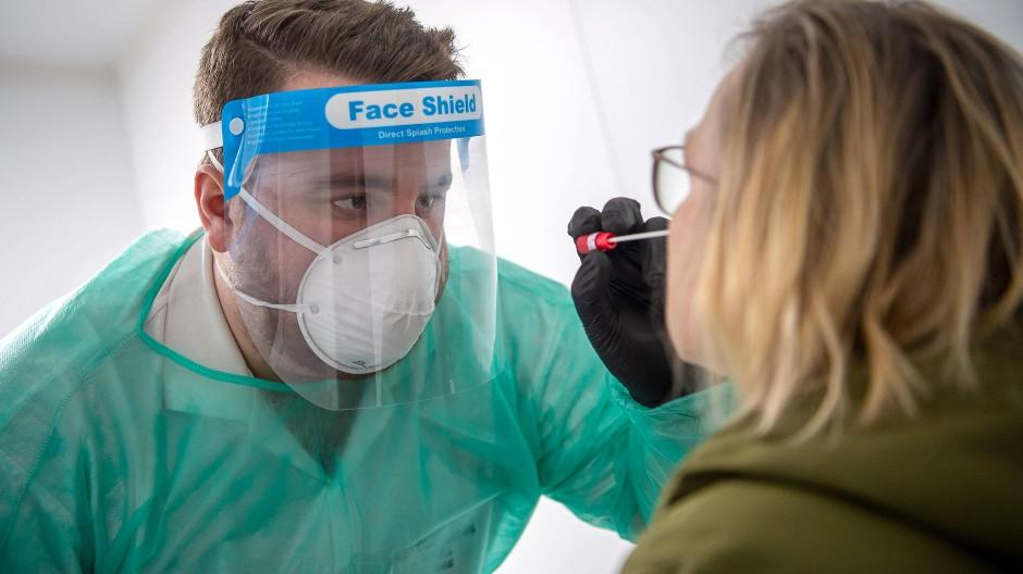 Coronavirus-Test in Niedersachsen