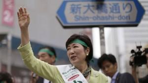 Tokio wird jetzt von einer Frau regiert
