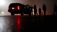 Wie geht es weiter mit Donald Trump und Amerika? Der Präsident am Dienstag nach einer Wahlveranstaltung in Maryland.