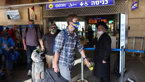 Israel verschärft Quarantäneregeln für Einreisende