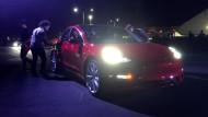 """Juli 2017: Die 30 ersten  """"Model 3"""""""