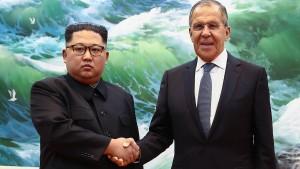 Kim Jong-un: Schätze es sehr, dass Putin Widerstand gegen Amerika leistet