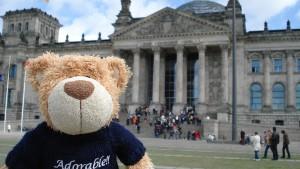 Gute Reise, lieber Teddy!