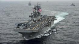 Trump: Amerikanisches Marineschiff zerstört iranische Drohne