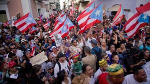Puerto Rico feiert Rücktritt seines Gouverneurs